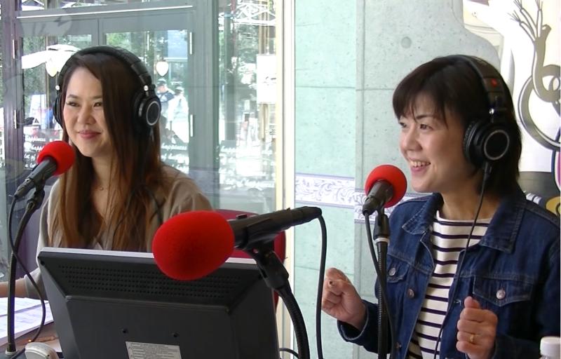 フリーアナウンサー河田京子さんとママそら代表の奥田絵美さん