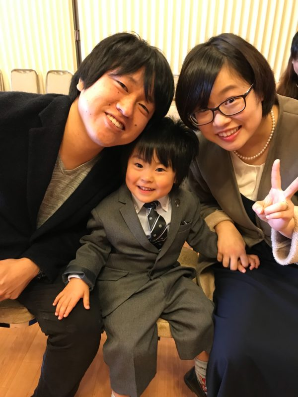 岸本仁美さん家族
