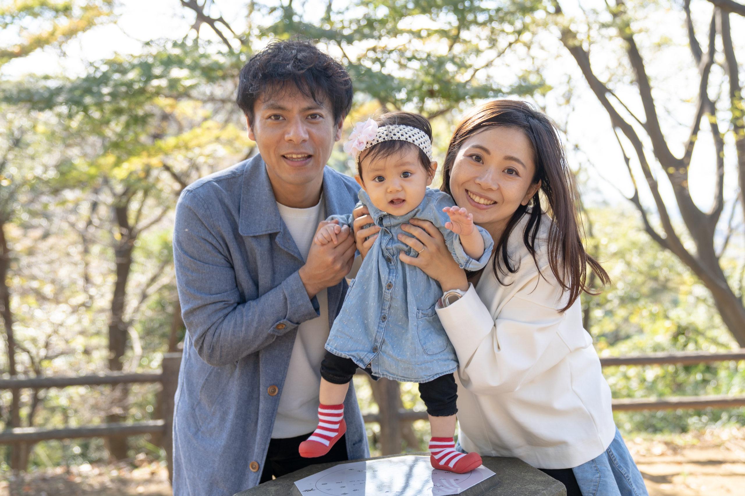 小野田貴代さん家族