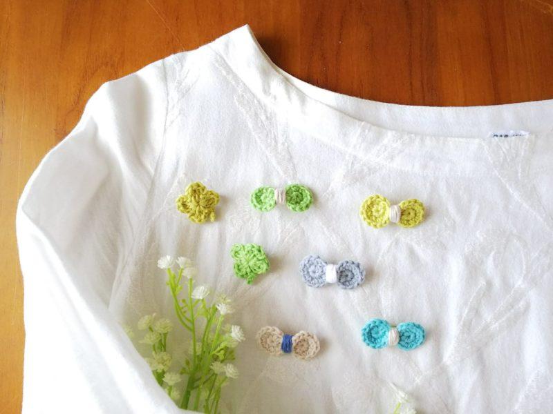 青山 朝香さん 編み物作品