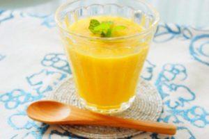 柑橘系のスムージー