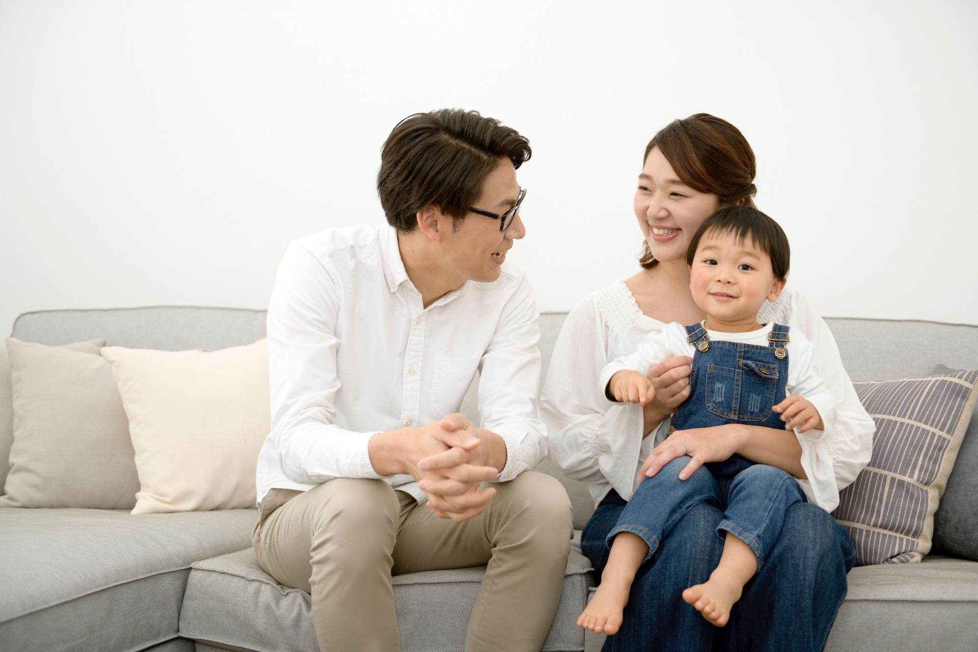 家族円満イメージ写真