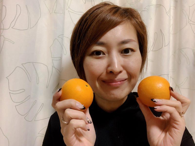つるやまりか オレンジ
