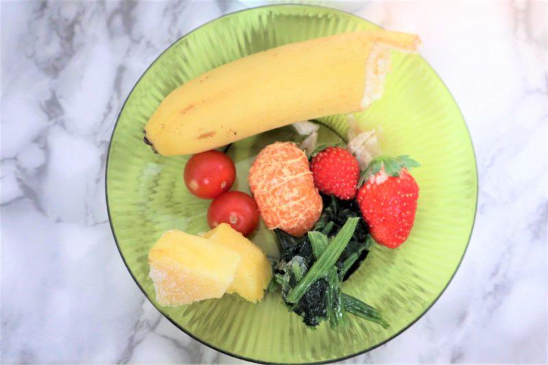 バナナ 冷凍みかん いちご トマト 冷凍ほうれん草 冷凍パイナップル