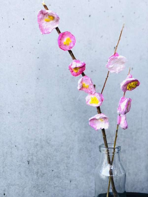 春の工作 桜