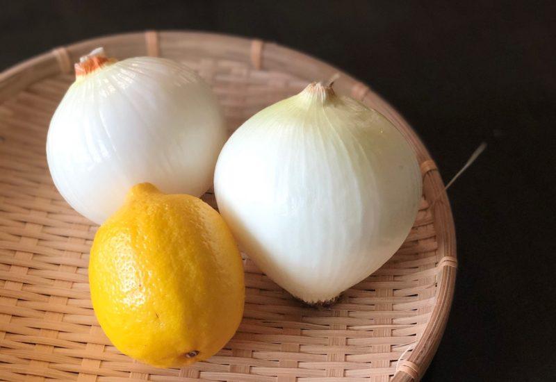 新玉ねぎ レモン