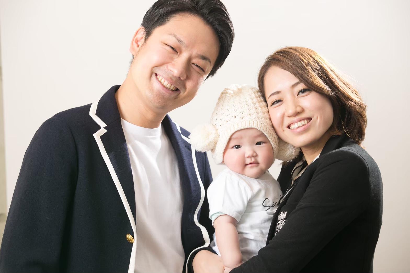 水江 セリ子さん家族