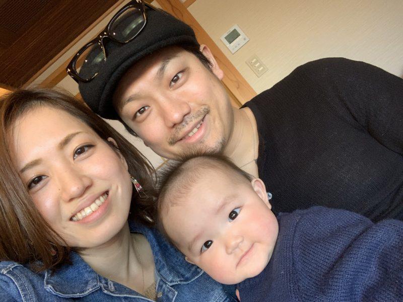 水江 セリ子さんご家族