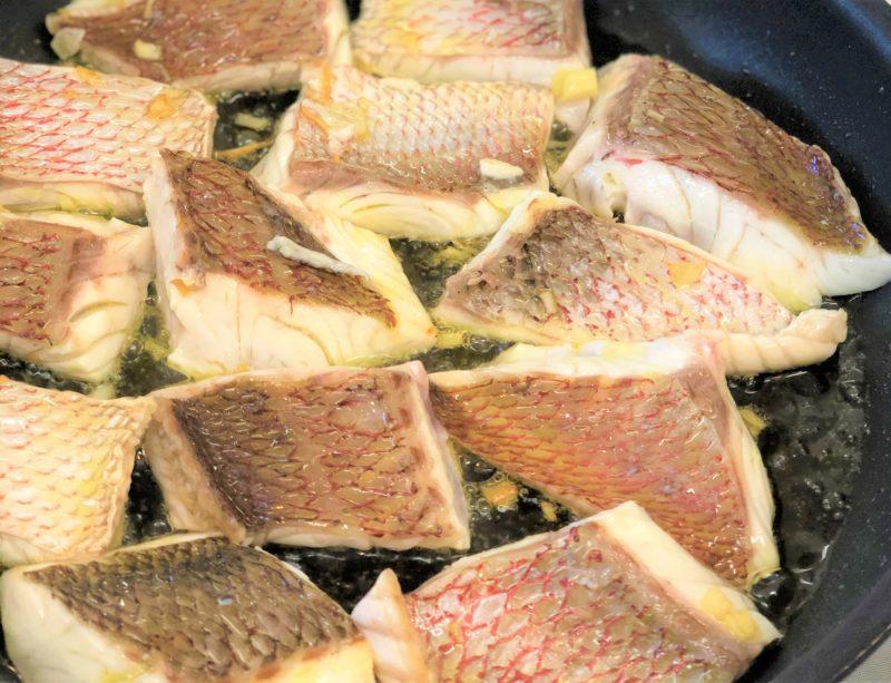フライパン 鯛