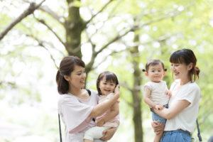 ママ達と赤ちゃん