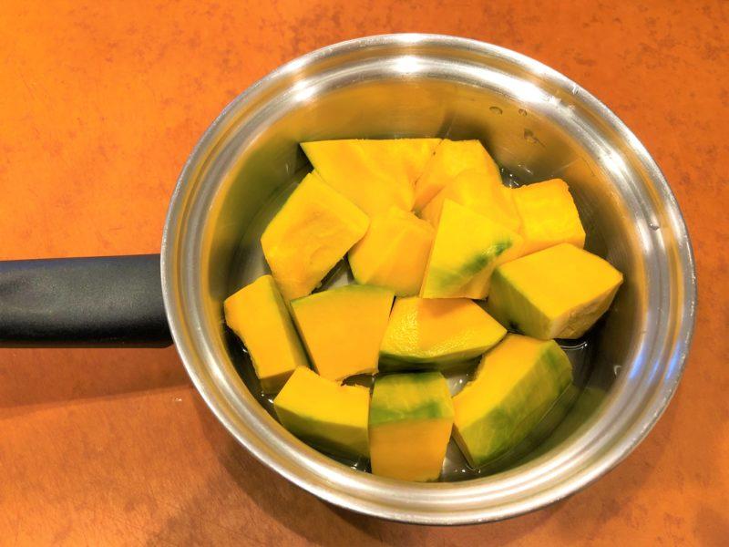 かぼちゃ 水 鍋