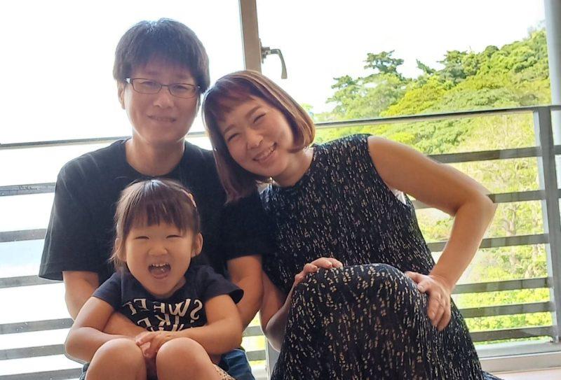 林 裕希子さん家族