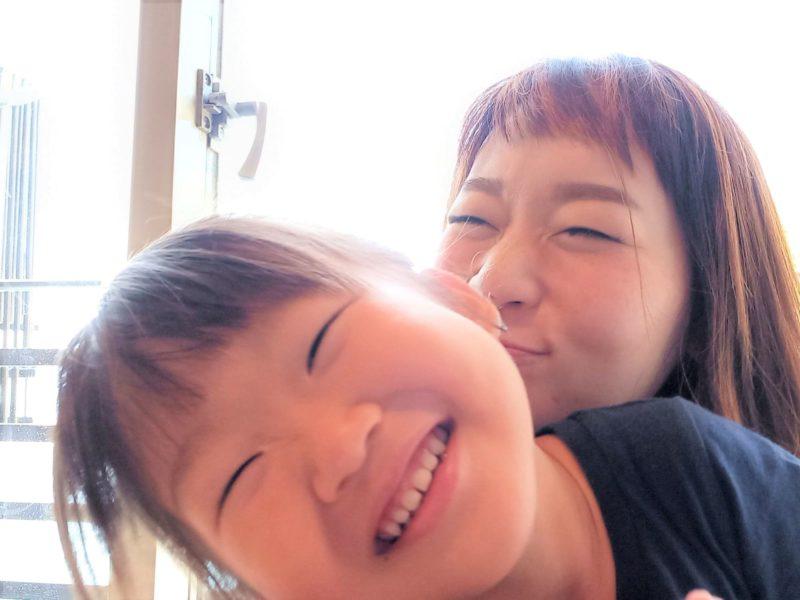 林 裕希子さん親子
