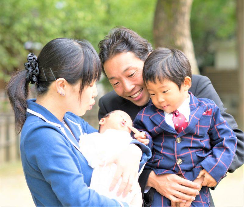 青木 由美子さん家族