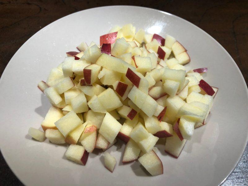 りんご こま切れ