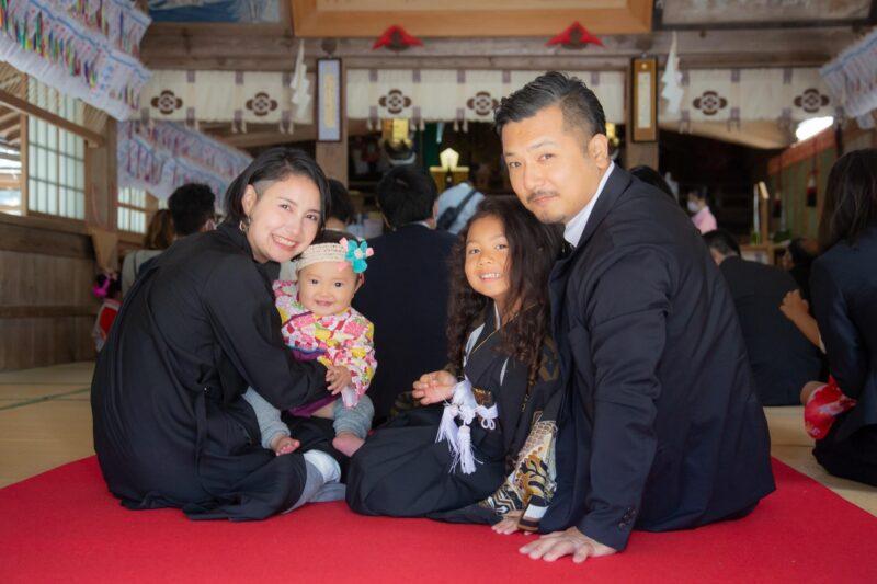 原口 翠さん家族