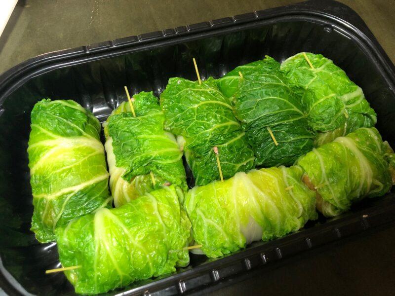 ロール白菜 作り方手順