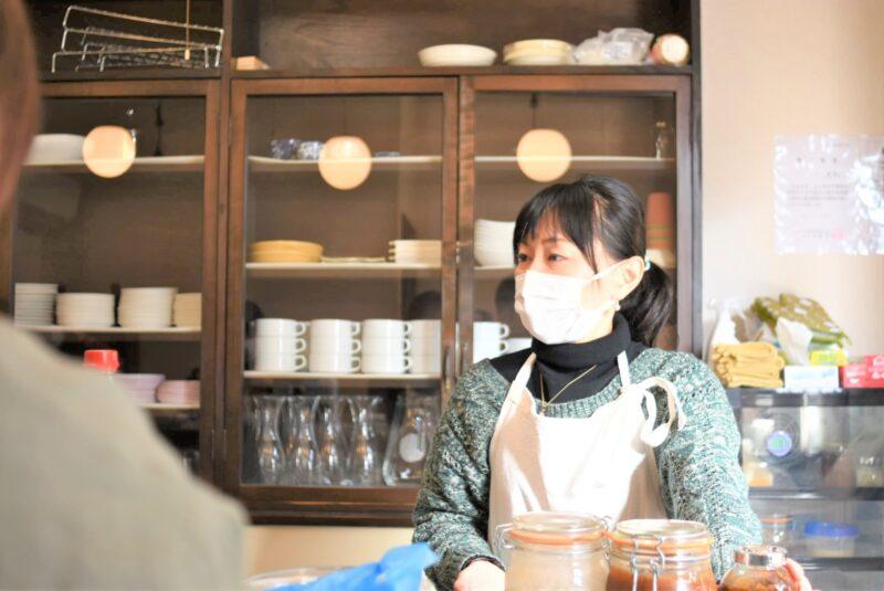 千田 ゆきみさん 仕事風景