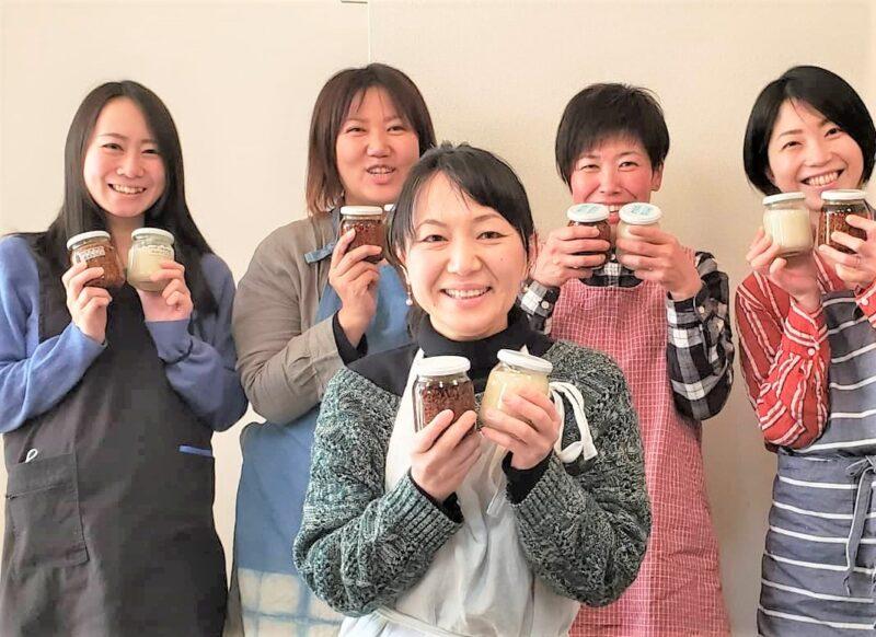 千田ちなみさん 発酵講座に参加の生徒たち