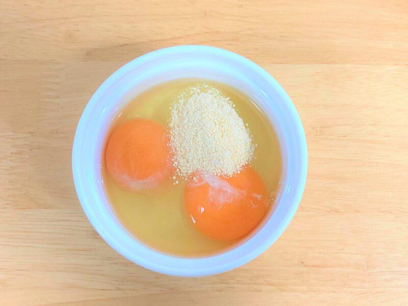 卵 鶏ガラスープの素